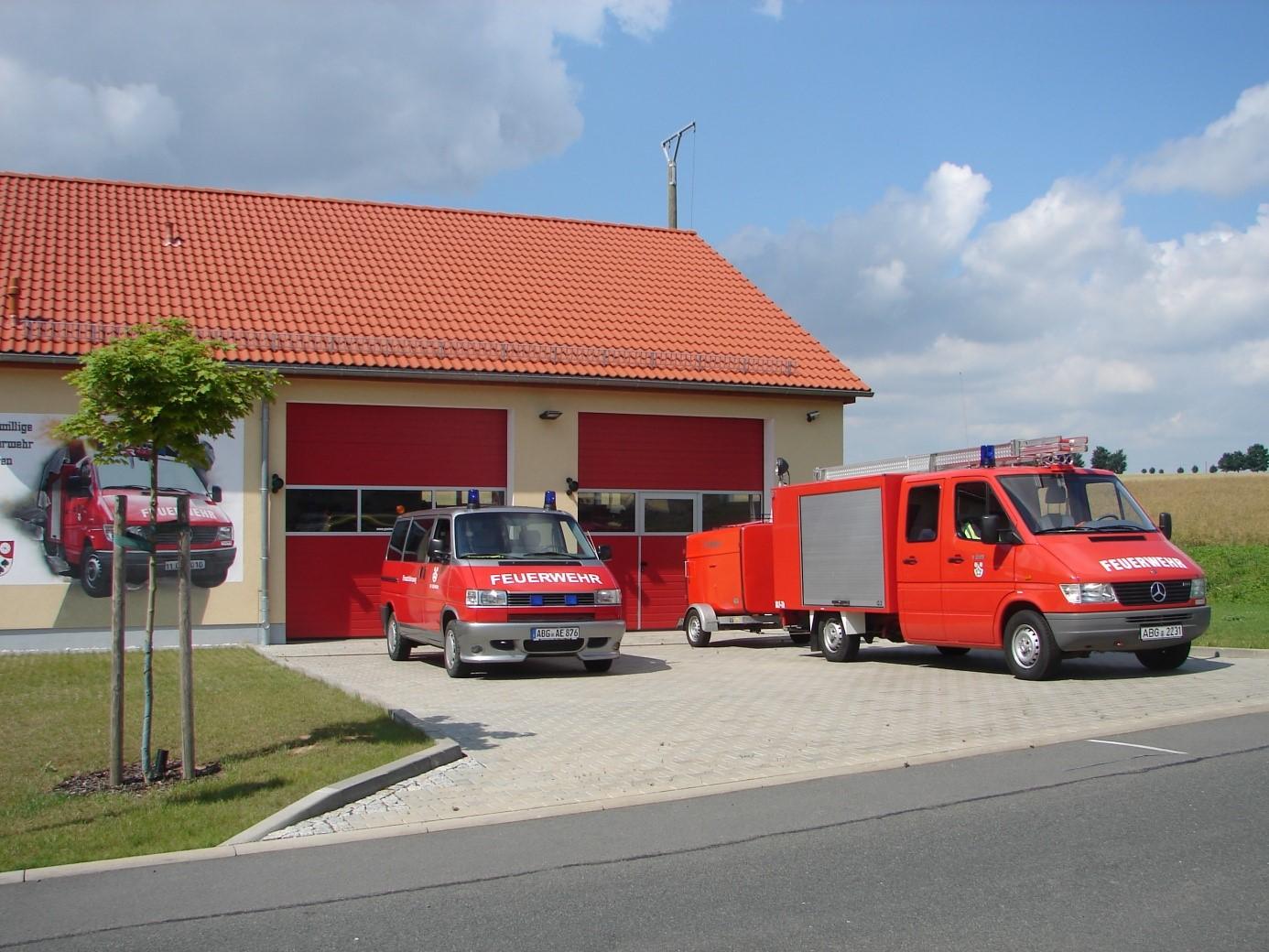 FFW Gerätehaus mit Technik
