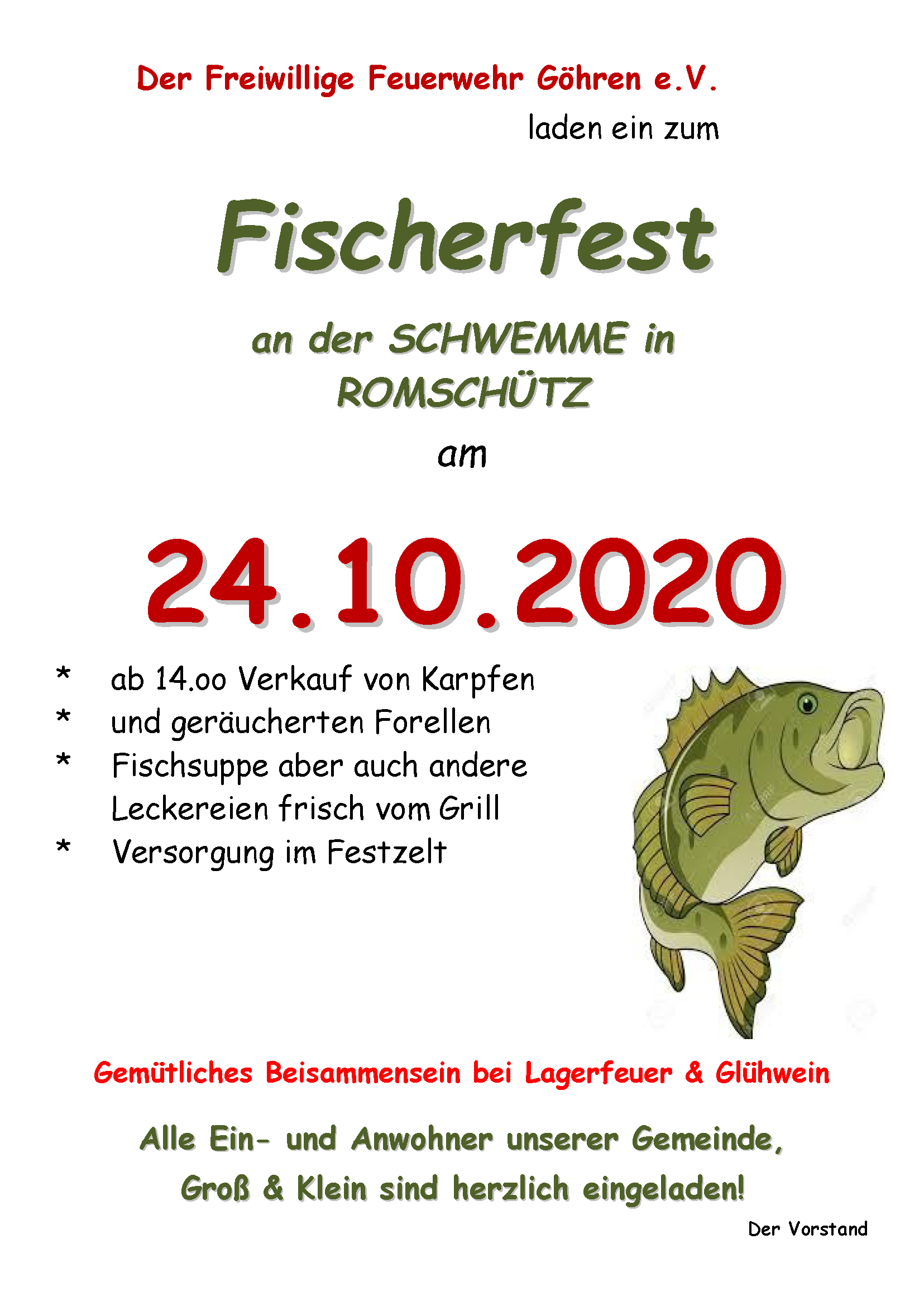 Abfischen 2020
